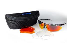 POLARLENS SERIES S24 Sonnenbrille / Skibrille / Radbrille + Gürteltasche