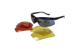 POLARLENS SERIES PS4 Sonnenbrille Wechselgläser + Gürteltasche