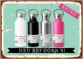 Dora's Edelstahl RETRO 500 ml