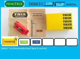 566631 Trix Bremswiderstand Spur N und H0