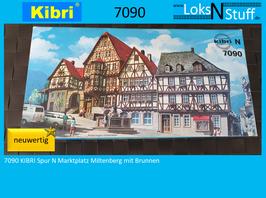 S7090 KIBRI Spur N Marktplatz Miltenberg mit Brunnen