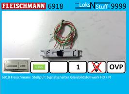 6918 Fleischmann Stellpult Signalschalter Gleisbildstellwerk H0 / N