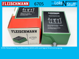 6705 Fleischmann Transformator 42VA Licht und Signal Stromversorgung