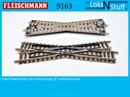 9163 Fleischmann Spur N Kreuzung 15° rechtskreuzend