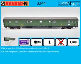 3244 Arnold Spur N Bahnpostwagen Post mr-ap/26 Ep.III