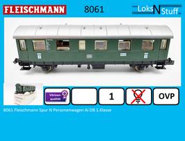 8061 Fleischmann Spur N Personenwagen Ai DB 1.Klasse