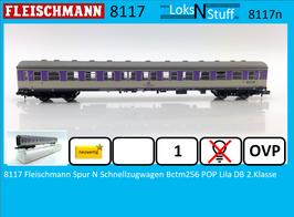 8117 Fleischmann Spur N Schnellzugwagen Bctm256 Liegewagen POP