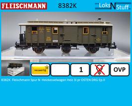 8382K  Fleischmann Spur N  Heizkesselwagen Heiz 3i pr OSTEN DRG Ep.II