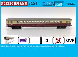 8164 Fleischmann Spur N IC/EC-Großraumwagen mit Mittelgang DB 1.Klasse