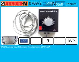 0709/2 Arnold Spur N Siemens Transformator 12/8/16VA