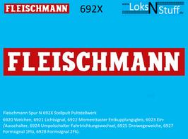692X Fleischmann Stellpult Pultstellwerk