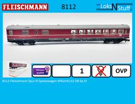 8112 Fleischmann Spur N Speisewagen WRümh132 DB Ep.IV