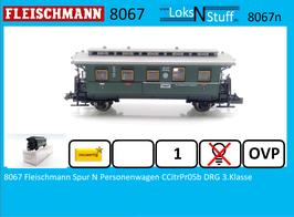 8067 Fleischmann Spur N Personenwagen CCitrPr05b DRG 3.Klasse