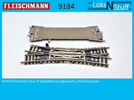 9184 (9166) Fleischmann Spur N Doppelkreuzungsweiche, linksskreuzend
