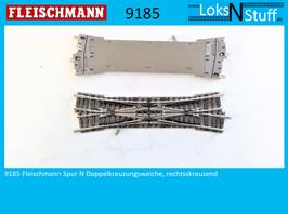 9185 (9167) Fleischmann Spur N Doppelkreuzungsweiche, rechtsskreuzend