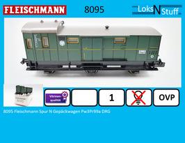 8095 Fleischmann Spur N Gepäckwagen Pw3Pr99a DRG