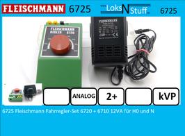 6725 Fleischmann Fahrregler-Set 6720 + 6710 12VA für H0 und N