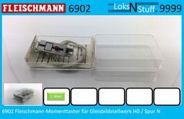 6902 Fleischmann Momenttaster Gleisbildstellwerk H0 / N