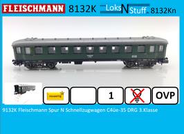 8132K Fleischmann Spur N Schnellzugwagen C4üe-35 DRG 3.Klasse