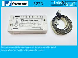 5233 Viessmann Rückmeldedecoder mit Gleisbesetztmelder digital