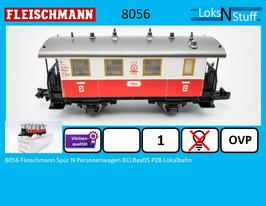 8056 Fleischmann Spur N Personenwagen BCLBay05 PZB Lokalbahn
