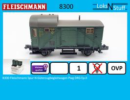 8300 Fleischmann Spur N Güterzugbegleitwagen Pwg DRG Ep.II