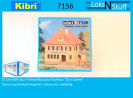 """S7156 KIBRI Spur N Modellbausatz Gasthaus """"Zum Löwen"""""""