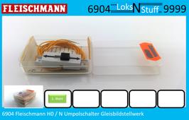 6904 Fleischmann H0 / N Umpolschalter Gleisbildstellwerk