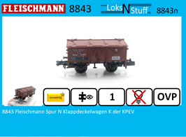 8843 Fleischmann Spur N Klappdeckelwagen K der KPEV Berlin 17400