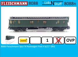 8088 Fleischmann Spur N Postwagen Post 4 b/17  DRG