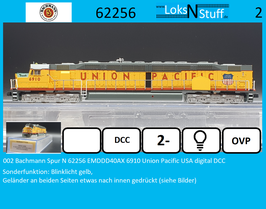 002 Bachmann Spur N 62256 EMDDD40AX 6910 Union Pacific USA digital DCC