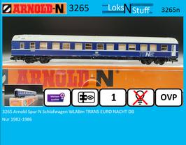3265 Arnold Spur N Schlafwagen WLABm TRANS EURO NACHT DB