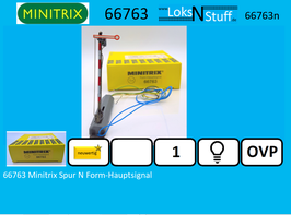66763 Minitrix Spur N Form-Hauptsignal