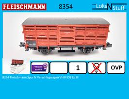 8354 Fleischmann Spur N Verschlagwagen Vh04 DB Ep.III