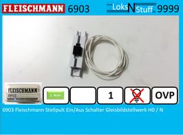 6903 Fleischmann Stellpult Ein/Aus Schalter Gleisbildstellwerk H0 / N