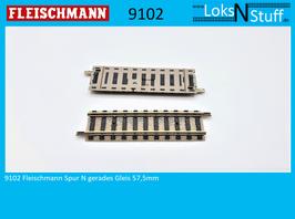 9102 Fleischmann Spur N gerades Gleis 57,5mm