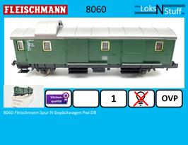 8060 Fleischmann Spur N Gepäckwagen Pwi DB