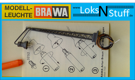 L4593 BRAWA 4593 Gittermastleuchte