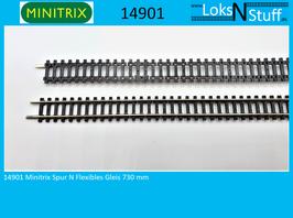 14901 Minitrix Spur N Gleis Flexgleis 730 mm