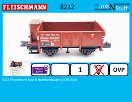 8212 Fleischmann Spur N Hochbordwagen O DRG Ep.II