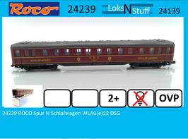 24239 ROCO Spur N Schlafwagen WLAü(e)22 DSG