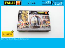 2574 Faller Spur N Bausatz Dorfbrunnen