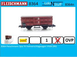 8364 Fleischmann Spur N Viehverschlagwagen Vh04 DRG