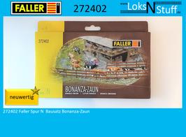 272402 Faller Spur N  Bausatz Bonanza-Zaun