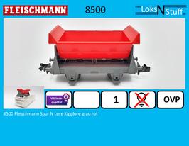 8500 Fleischmann Spur N Lore Kipplore grau rot