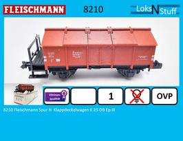 8210 Fleischmann Spur N  Klappdeckelwagen K 25 DB Ep.III