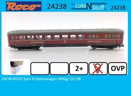 24238 ROCO Spur N Speisewagen WRüg 152 DB