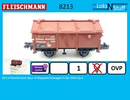 8213 Fleischmann Spur N Klappdeckelwagen K der DRG Ep.II