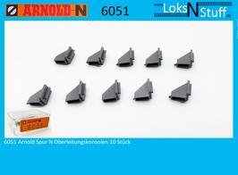 6051 Arnold Spur N Oberleitungskonsolen 10 Stück