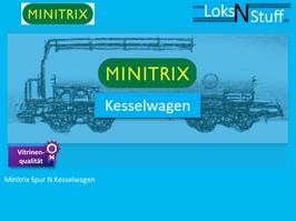 Minitrix Spur N Kesselwagen
